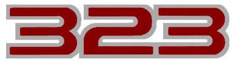 323 logo